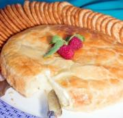 Baked Brie For A New Year's Appetizer