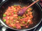 Potato Bell Pepper Curry