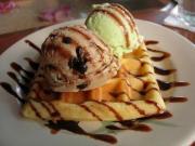 Ginger Dessert Waffles