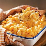 How to eat macaroni and cheese?