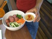 Vietnamese Vermicelli with BBQ Pork Balls (Bun Nem Nuong)