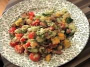 Zuza Zak's Weeknight Dinner: Quinoa and Bean Salad