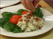 White Fish and Potato Salad