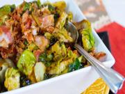 Thanksgiving Recipes : Brussel Sprouts with Bacon