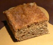Applesauce Cake Squares