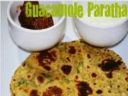 Guacamole Paratha - Indo- Mexican by Sruthi