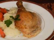 Whole Roasted Herb Chicken & Creamy Mash