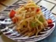 Green Papaya Salad-Som Tom