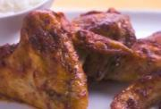 Grilled Chicken Sticky Wings