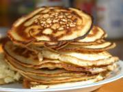 Apple Milo Pancakes