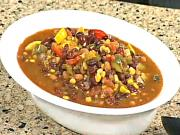 Vegetable and Beans Chili
