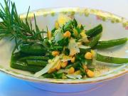 Betty's Green Beans with Parmesan-Pine Nut Topping