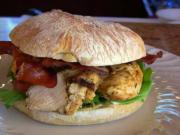 Grilled Chicken & Prosciutto Sandwich (Cooking with Carolyn)