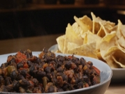 Warm Black Bean Dip