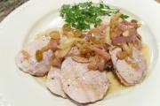 Pork Tenderloin with Onion-Raisin Conserve