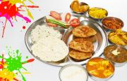Holi-lunch-Thaali