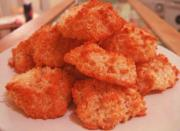Red Coconut Macaroons