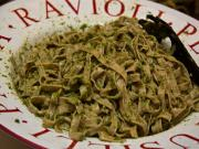 Linguine With Spinach Pesto