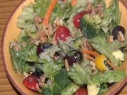 Broccoli & Lettuce Salad - Healthy Salad