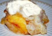 Just Peachy Bread Pudding