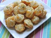 Cheddar Herb Muffin Bites