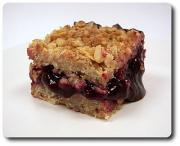 Cherry Squares With Oats
