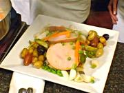 Turkey with Carrots and Peas