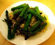 Cantonese Rice & Asparagus