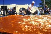 Making of the largest enchilada