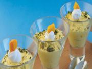 Mango Ginger Mousse by Tarla Dalal