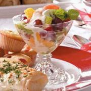 Fruit Salads are the most versatile dish - serve them as appetizers, desserts or anytime snacks