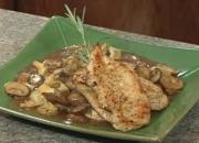 Chicken with Artichoke and Mushrooms