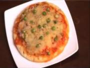 Pizza - Marinara Peas Pizza
