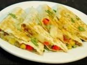 Vegetable Quesadilla - Easy Mexican