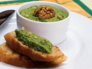 Zucchini Toast Healthy Starters By Tarla Dalal