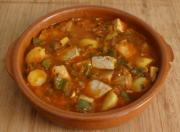 Marmitako is a fish stew which is eaten in different parts of Spain