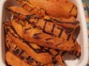 Grilled sweet potato.
