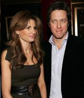 Hugh Grant, Jemima Goldsmith go to Gwyneth's party together.