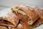Veal and Mushroom Strudels
