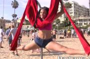 Yoga Swing On Venice Beach