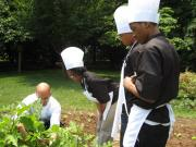Brainfood Teens Cook at The White House.
