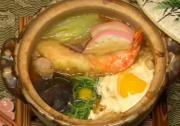 Japanese Nabeyaki Udon Noodles