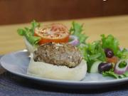 Greek Lamb Burgers