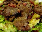Spicy Moroccan Liver Salad