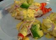 Shrimp Tiradito: Michelle Bernstein