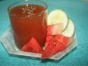 Refreshing Watermelon and Cucumber Cooler