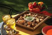 Top dips and trays to adorn your Christmas table.