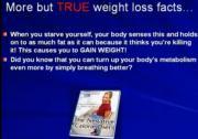 About Negative Calorie Chart