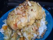 Food Tube Star Curried Coconut Chicken with Mandarin Almond Rice