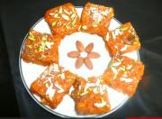 Carrot and Milk Burfi